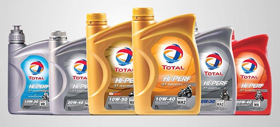 масло total hi-perf за мотори
